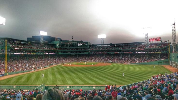 Fenway Park Baseball Stadium, Boston Red Sox play the New York Yankees